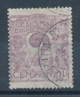 Saint-Marin  N°34 - Oblitérés