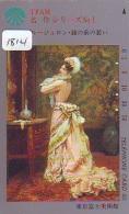 Télécarte JAPON * PEINTURE * ART * Telefonkarte Gemälde (1814) Phonecard Japan * KUNST * SCHILDERIJ - Malerei