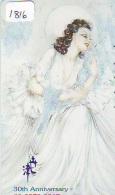 Télécarte JAPON * PEINTURE * ART * Telefonkarte Gemälde (1816) Phonecard Japan * KUNST * SCHILDERIJ *   Erotique * Femme - Malerei