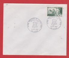 Env Premier Jour --  Phlibert De L Orme  --  14 Fev 1970  -  Lyon - Marcophilie (Lettres)