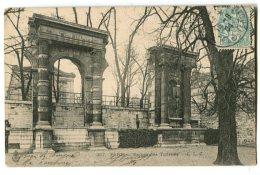 Jardin Des Tuileries PARIS Ruines Des Tuileries - District 01
