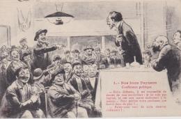 16 / 4 / 83  - NOS  BONS  PAYSANS  -  1  CONFÉRENCE  POLITIQUE - Paysans