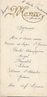 3   Menus De Mariage/Lefebvre/Ferdinand/Déjeuner / 1925    MENU160 - Menus