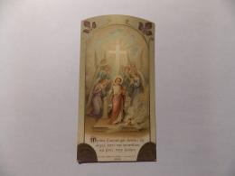 Image Pieuse Religieuse  Mystère D Amour Maison Bouasse Lebel Souvenir Communion 1916 Eglise De Saint Martin Olivet - Devotion Images