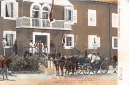 ¤¤  -   MONTENEGRO    -  CETINJE  -  Palais De S. Altesse Royale Le Prince  -  Attelage De Chevaux  -  ¤¤ - Montenegro