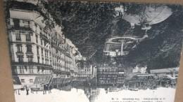 PARIS 11  LE SQUARE D ANVERS    CACHET  FOYER DU SOLDAT DE LA GARE DE L EST - Marcophilie (Lettres)
