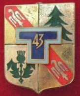 43° REGIMENT DES TRANSMISSIONS - Militari