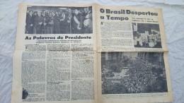 SUPLEMENT JOURNAL(non Annonce) Au BRESIL En 1964 REVOLUTION INFILTRATION COMUNISTE - Livres, BD, Revues