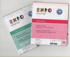 Alt8933 Expo Milano 2015 Mappa Ufficiale Map Padiglioni Pavilion Food Cibo China Japan Russia Qatar UAE Chile France USA - Altri