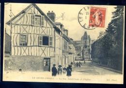 Cpa Du 27  Le Grand Andely -- La Rue Saint Louis Et L' Eglise   LIOB42 - France