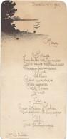 1   Menu /Repas /Letellier /1922        MENU166 - Menus