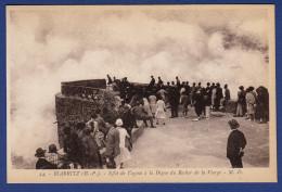 64 BIARRITZ Effet De Vagues à La Digue Du Rocher De La Vierge - Animée - Biarritz