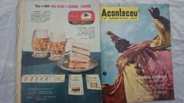 REVUE BRESIL ACONTECEU , Fevrier 1959,THEMES DU CARNAVAL - Livres, BD, Revues