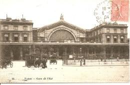 75 PARIS GARE DE L EST BELLE ANIMATION CACHETS DE LA POSTE AUMAGNE ET ST JEAN D ANGELY - Metro, Estaciones