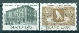 IJSLAND - Mi Nr 652/653 - Gest./obl. - Cote 8,00 € - 1944-... Republik