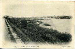 03 - Moulins - Vue Prise De La Fond-Vinet. - Moulins