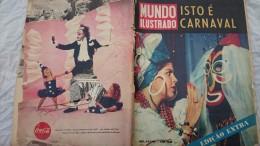 REVISTA MUNDO ILUSTRADO 02marco 1960, Edicao Extra O CARNAVAL - Livres, BD, Revues