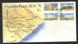 7843- Ciskei , South Africa  , Scott 183-186 FDC - Ciskei