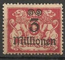 Timbres - Allemagne - Etranger - Dantzig - 1923 - 3 Millionen -
