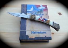 "Taschenmesser-Couteau - Collection ""SWISS"" Matterhorn (Cervin) Falkner COLLECTORS EDITION - Armi Bianche"