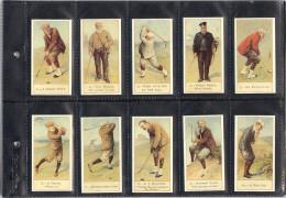Belle Série De 50 Images - COPE'S GOLFERS à LIVERPOOL - (format De 3.6 Cms X 6.7 Cm) - Golf