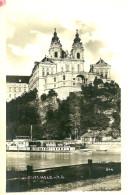 Autres. Stift Melk. Westen Melk, L'abbaye Et Les Bateaux Vapeurs. - Autriche