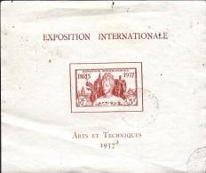Détail De La Série Exposition Internationale De Paris Obl. Guyane N° BF 1 ( 2ème Choix) - 1937 Exposition Internationale De Paris