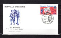 """N-C PASTEUR : Enveloppe 1er Jour De 1995 """" LOUIS PASTEUR """" N° YT 680. Parfait état. FDC - Louis Pasteur"""