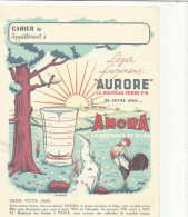 PROTEGE CAHIER MOUTARDE AMORA - Book Covers