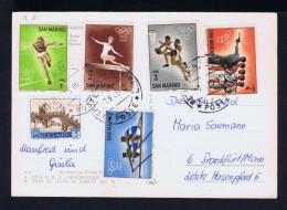 Olympic Games TOKYO 64 Sports Gymnastic Gymnastique Athlétisme Tir Arms Landscape Tourisme Architecture Postcard Sp3843