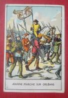 -- JEANNE MARCHE SUR ORLEANS -- LA JOUVENCE DE L'ABBE SOURY -- - Chromos