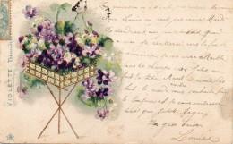 N° 44 ; FLEURS : Précurseur 2 Scans : Panier De Bleuets - Flowers