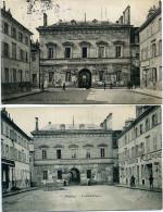 03 - Moulins - La Bibliothèque - Lot De 2 Cartes. - Moulins