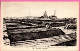 Commission Des Ardoisières D´Angers - (Anciennement Larivière Er Cie) - Stock D'Ardoises - Angers