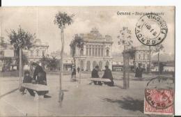 CPA - Genova - Stazione Brignole - Animée - Genova (Genoa)