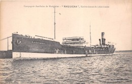 """¤¤  -  Bateau De Commerce  -  Compagnie Auxiliaire De Navigation """" NAUSICAA """"  -  Navire-Citerne    -   ¤¤ - Commerce"""