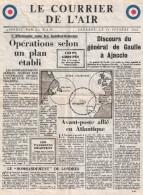 TRACT PROPAGANDE  COURRIER AIR RAF FFL LONDRES DE GAULLE 1943 FRANCE LIBRE - 1939-45