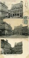 03 - Moulins - Mairie Et Caisse D'Epargne - Lot De 5cartes. - Moulins