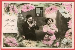 COUPLE - Téléphone - Allo! Allo! Je Songe à Vous - (Circé 4233) - - Couples