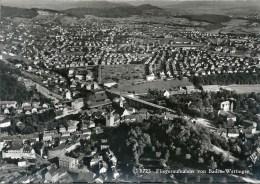 Baden Wettingen - Fliegeraufnahme          Ca. 1950 - AG Argovia