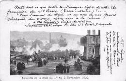 ¤¤  -   SAINT-PIERRE-et-MIQUELON  -  SAINT-PIERRE  -  Incendie De La Nuit Du 1er Au 2 Novembre 1902  -   ¤¤ - Saint-Pierre-et-Miquelon