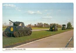 MILITÄR - PANZER / Tank / Chars, M4 Sherman Medium Tank, Aberdeen Proving Ground - Ausrüstung