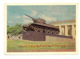 MILITÄR - PANZER / Tank / Chars, Panzer-Ehrenmal Dsershinski Platz, Moskau - Ausrüstung
