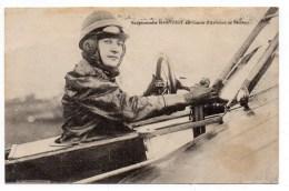 AVIATEUR MADEMOISELLE MARVINGT AU CENTRE D'AVIATION De BETHENY (52 - MARNE) - Airmen, Fliers