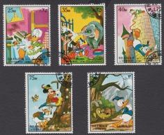 SHARJAH ° WALT DISNEY Animation Cartoon Film Donald / Mickey Mouse / 5 VALUES - Disney