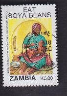 Zambie. Campagne De Promotion Du Soja. Alimentation D'un Enfant 538 - Zambie (1965-...)