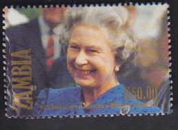 Zambie. 40e Anniversaire De L'accession Au Trône De La Reine Elisabeth Ll. 557 - Zambie (1965-...)
