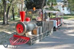 Nice (06) Mars 2003 - Train Sur Pneus Au Castel Des Deux Rois - Postcards