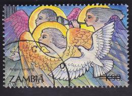 Zambie. Noël: Choeur Des Anges Et Colombe 572 - Zambie (1965-...)