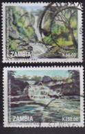Zambie. Chutes D'eau 574. 576 - Zambie (1965-...)